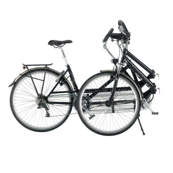 Foto tandem multicycle geplooid